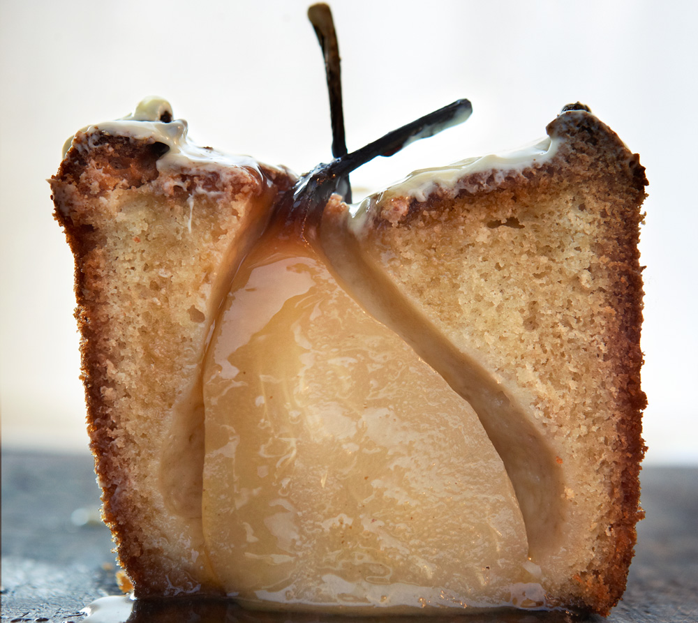 Pear Star Anise Cake Recipe