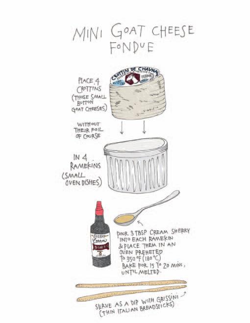 goatcheese-fondue